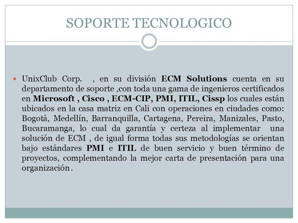 SOPORTE TECNOLOGICO