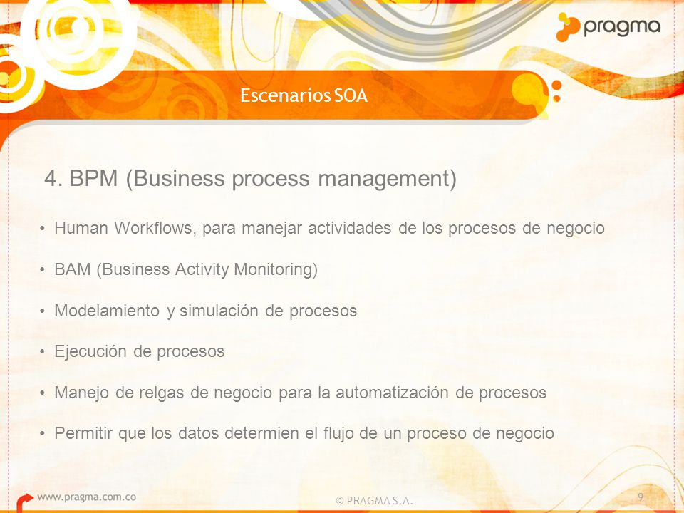 4. BPM (Business process management)