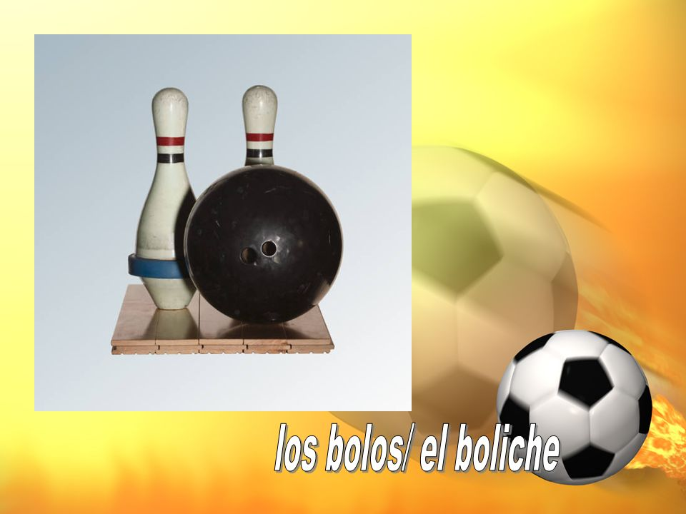 los bolos/ el boliche