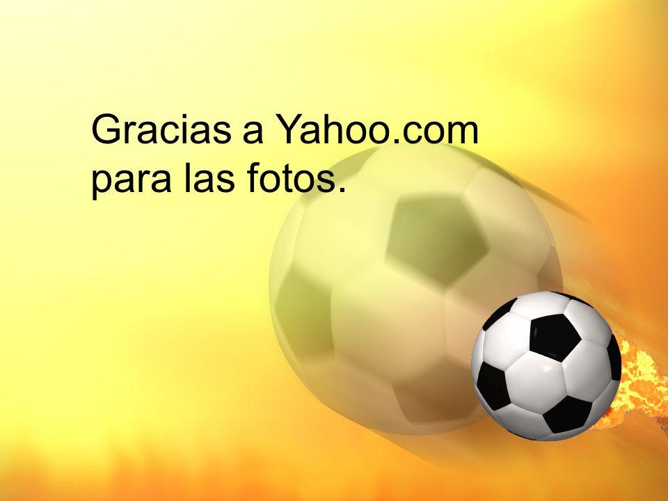 Gracias a Yahoo.com para las fotos.