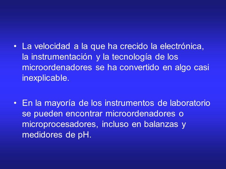 La velocidad a la que ha crecido la electrónica, la instrumentación y la tecnología de los microordenadores se ha convertido en algo casi inexplicable.