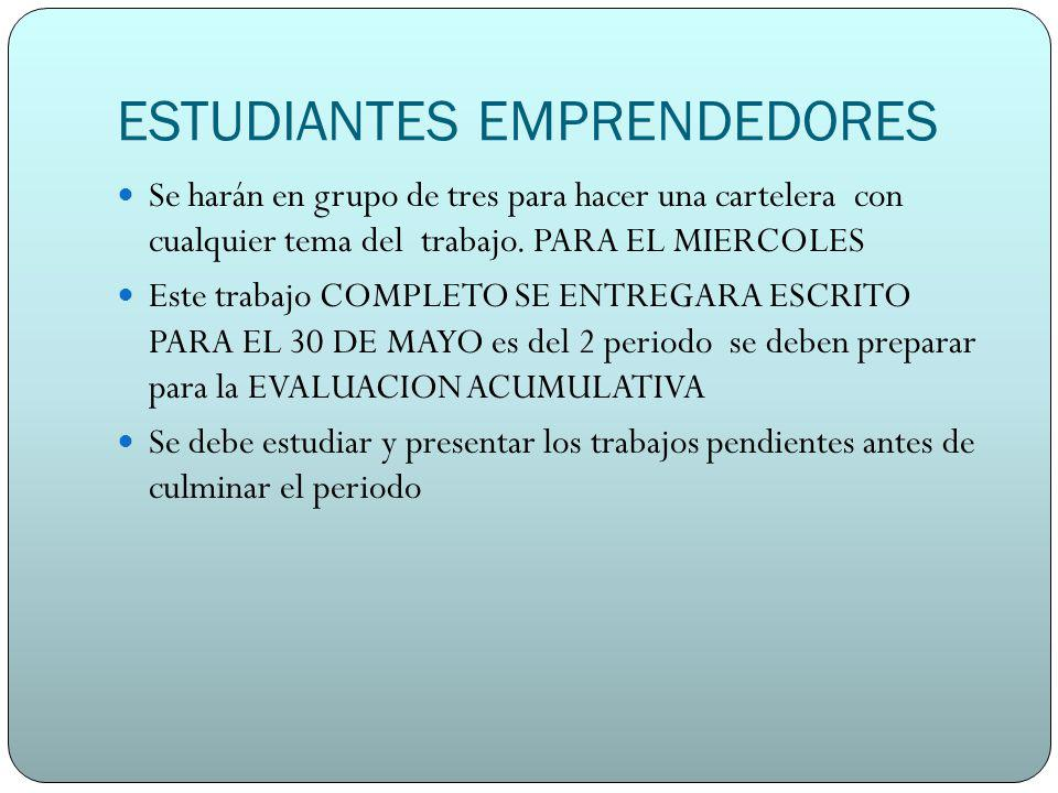 ESTUDIANTES EMPRENDEDORES