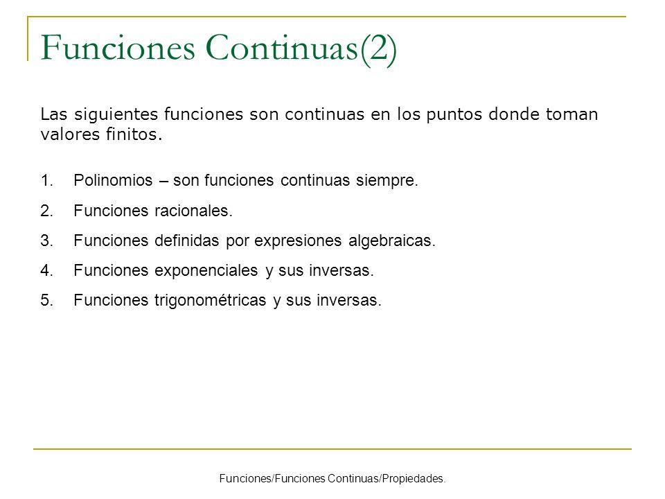 Funciones Continuas(2)