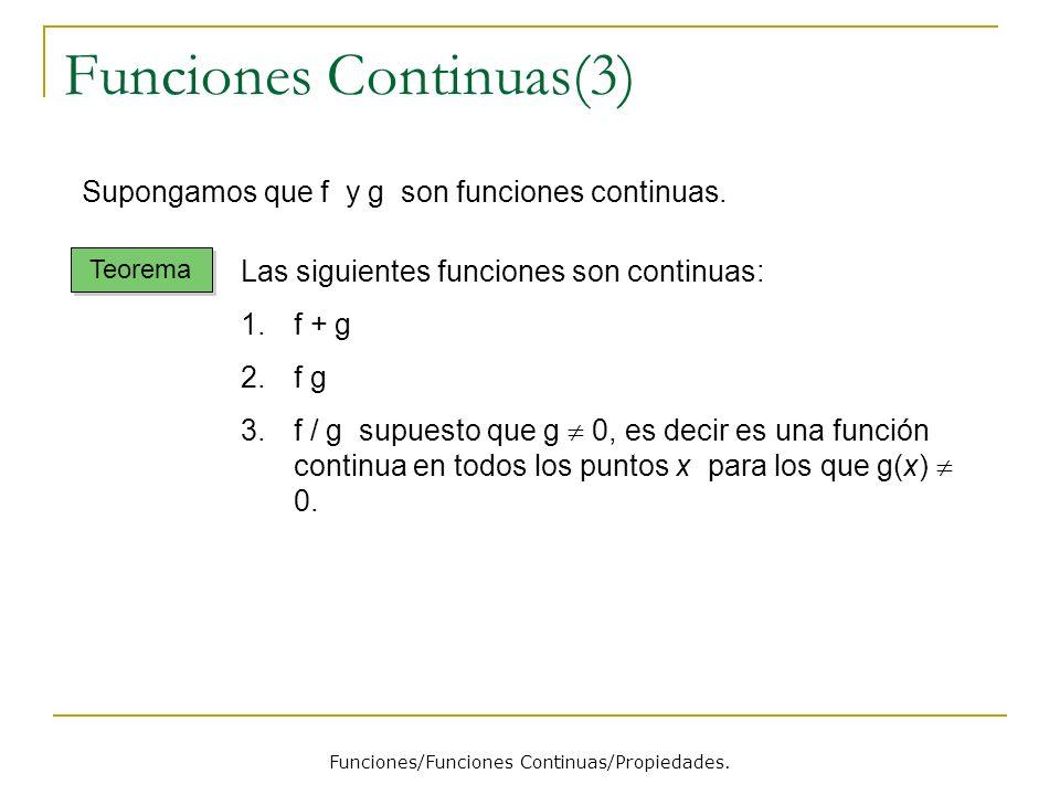 Funciones Continuas(3)