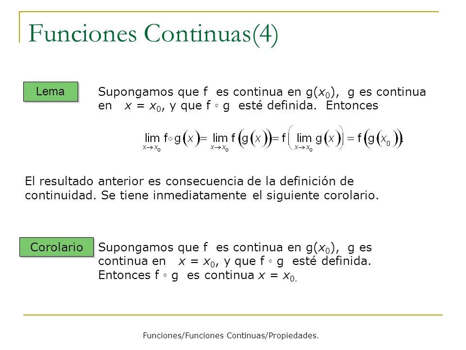 Funciones Continuas(4)