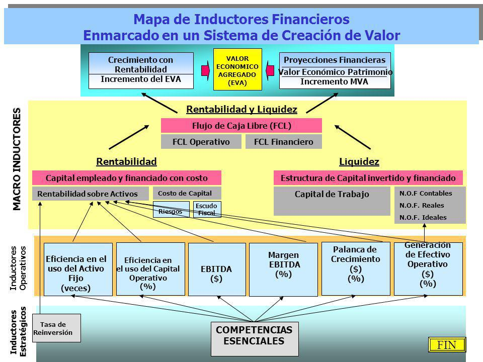 Mapa de Inductores Financieros