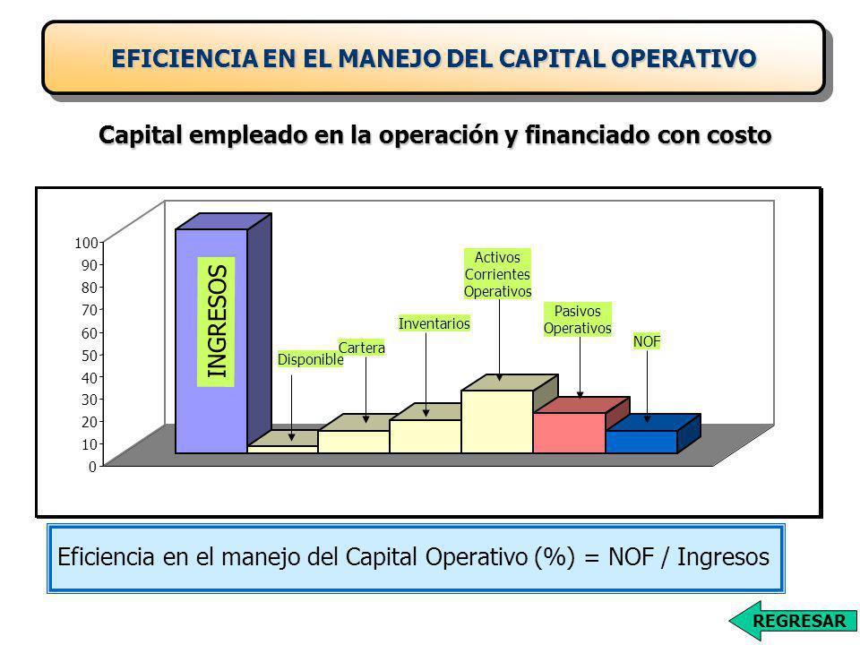EFICIENCIA EN EL MANEJO DEL CAPITAL OPERATIVO