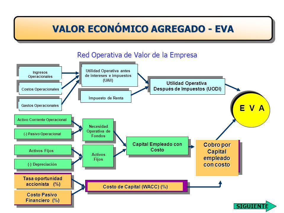 Red Operativa de Valor de la Empresa