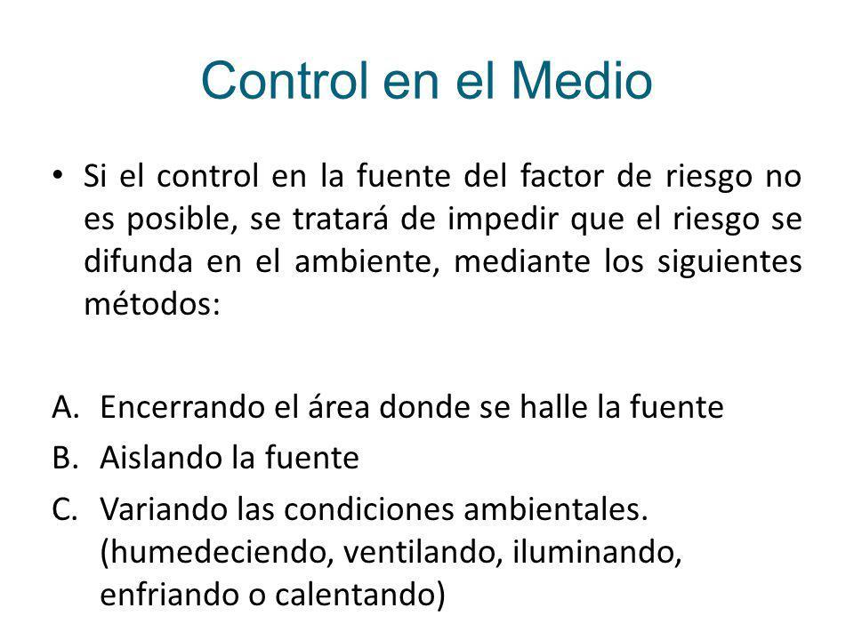 Control en el Medio
