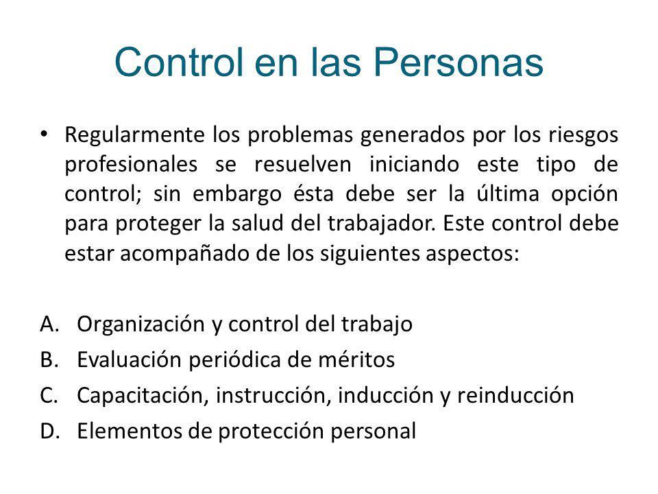 Control en las Personas