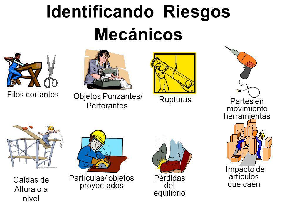Identificando Riesgos Mecánicos