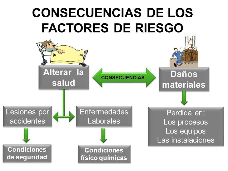 CONSECUENCIAS DE LOS FACTORES DE RIESGO