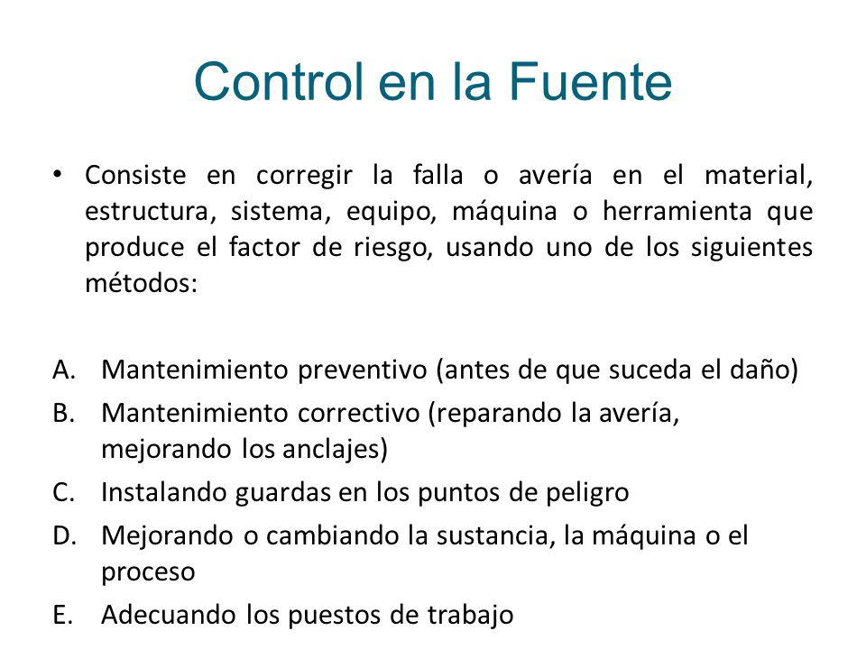 Control en la Fuente