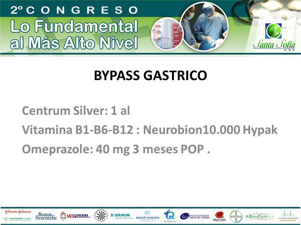 BYPASS GASTRICO Centrum Silver: 1 al