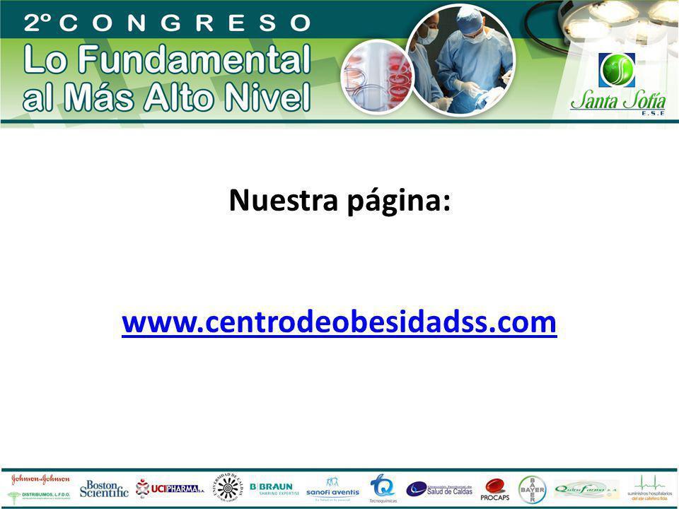 Nuestra página: www.centrodeobesidadss.com