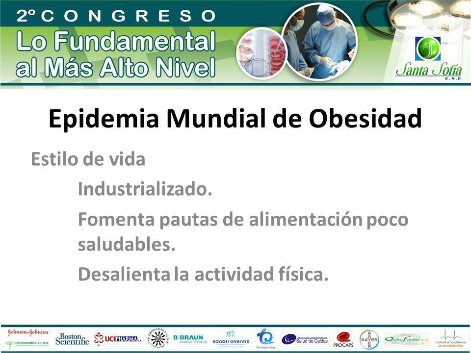 Epidemia Mundial de Obesidad