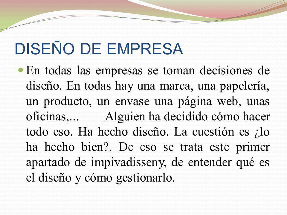 DISEÑO DE EMPRESA