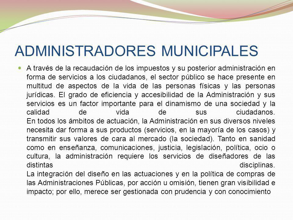 ADMINISTRADORES MUNICIPALES