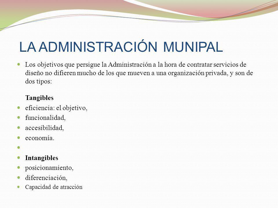 LA ADMINISTRACIÓN MUNIPAL
