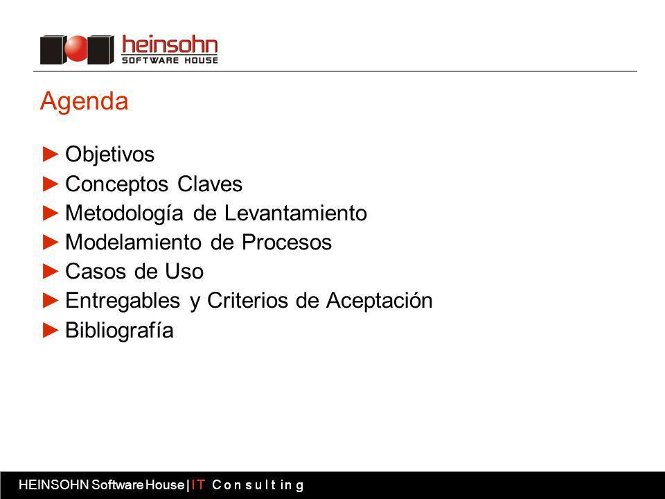 Agenda Objetivos Conceptos Claves Metodología de Levantamiento