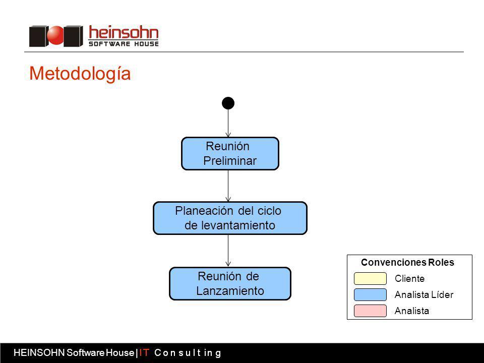 Metodología Reunión Preliminar Planeación del ciclo de levantamiento