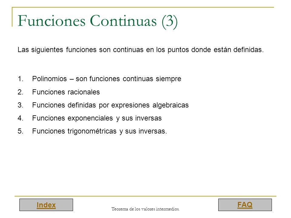 Funciones Continuas (3)