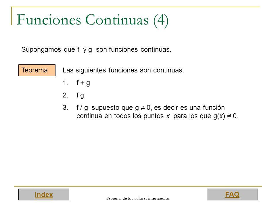 Funciones Continuas (4)