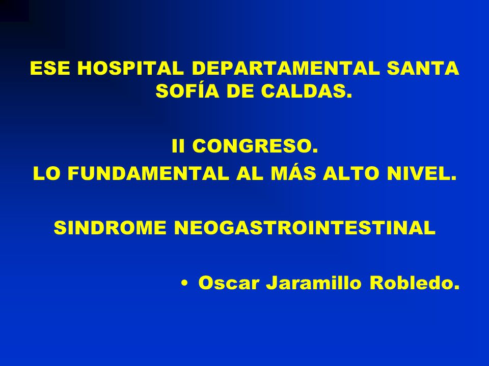 ESE HOSPITAL DEPARTAMENTAL SANTA SOFÍA DE CALDAS.