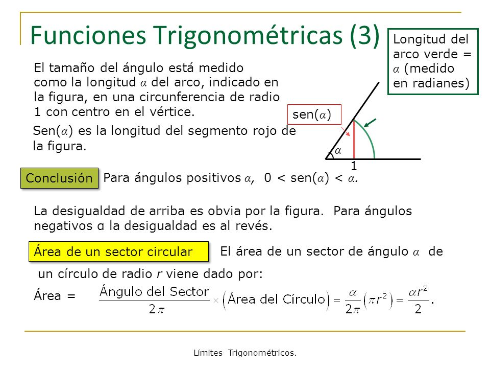 Funciones Trigonométricas (3)