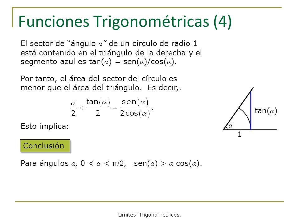 Funciones Trigonométricas (4)