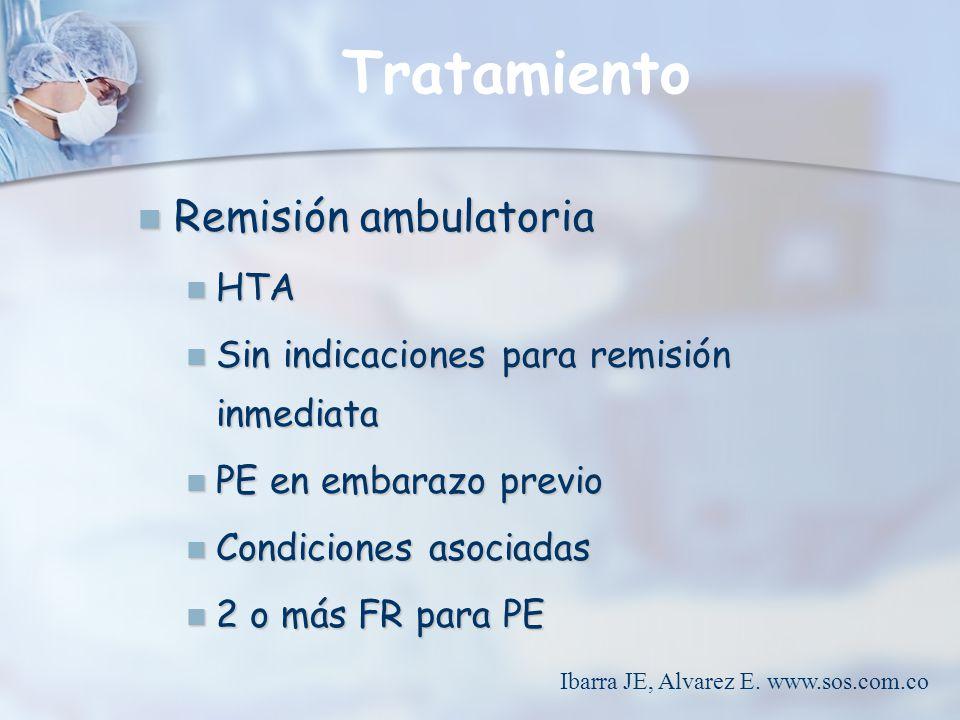 Ibarra JE, Alvarez E. www.sos.com.co