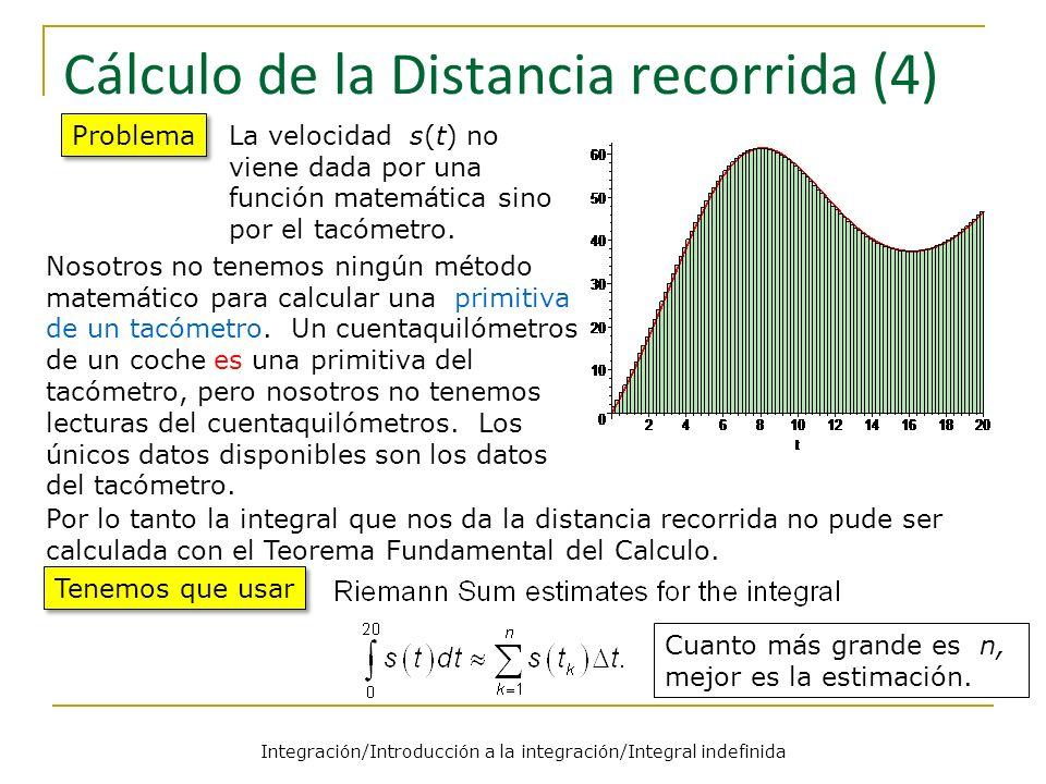 Cálculo de la Distancia recorrida (4)