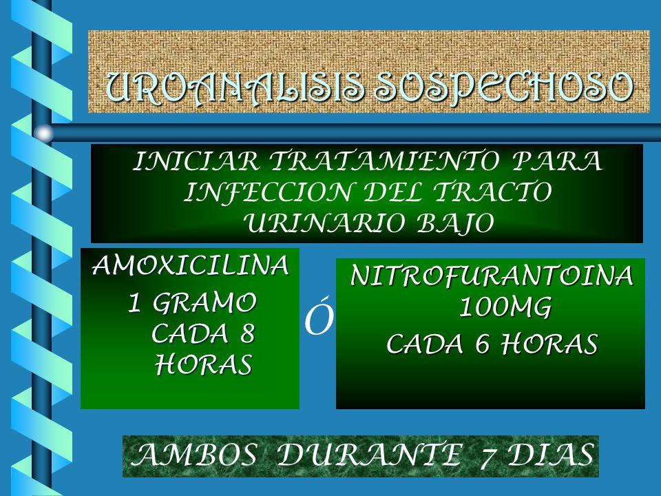 UROANALISIS SOSPECHOSO