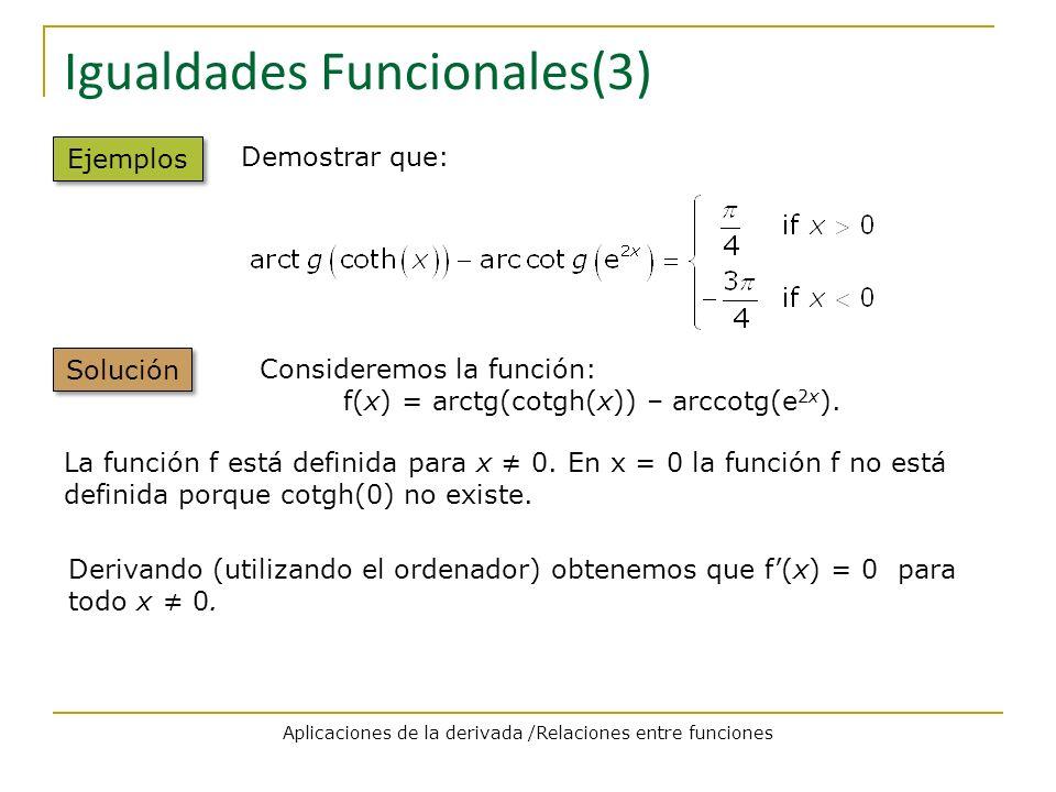 Igualdades Funcionales(3)