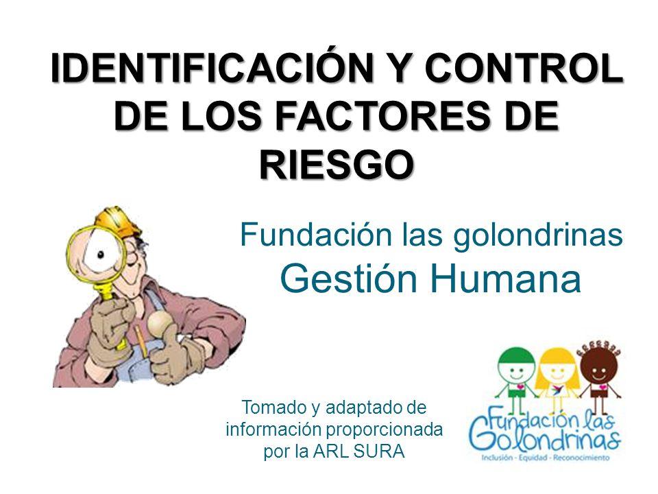 Fundación las golondrinas Gestión Humana