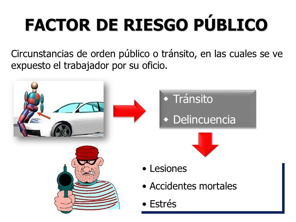 FACTOR DE RIESGO PÚBLICO