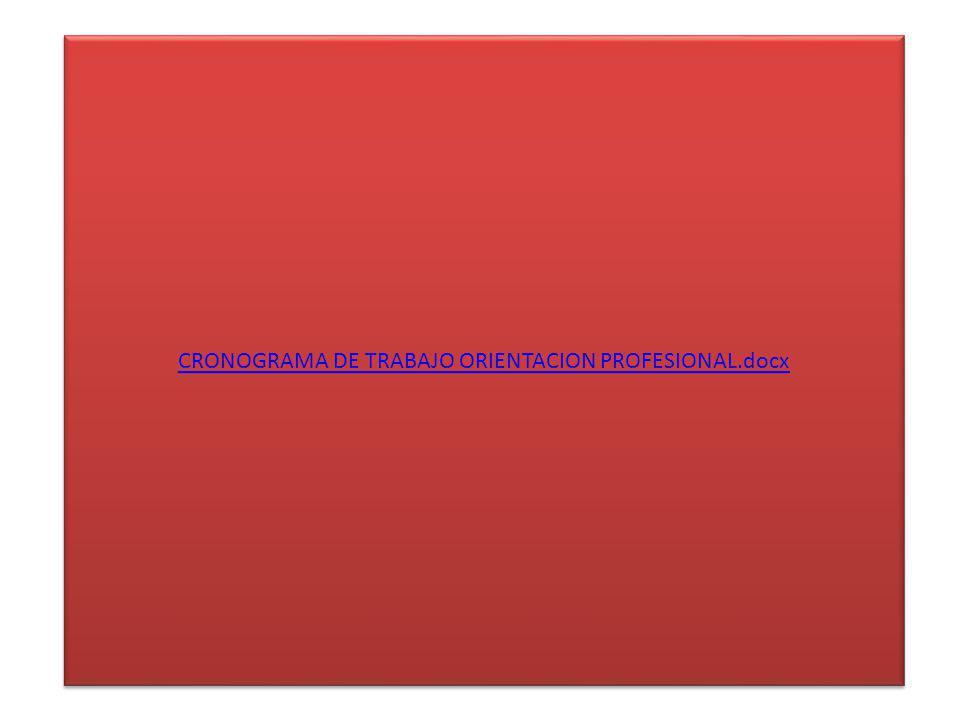 CRONOGRAMA DE TRABAJO ORIENTACION PROFESIONAL.docx