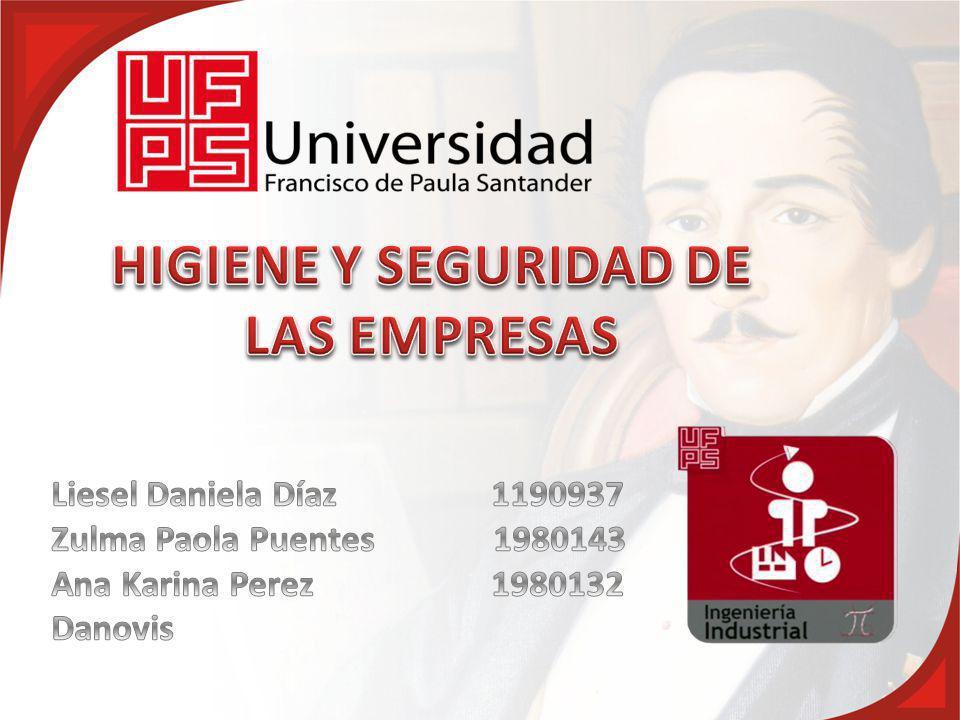HIGIENE Y SEGURIDAD DE LAS EMPRESAS