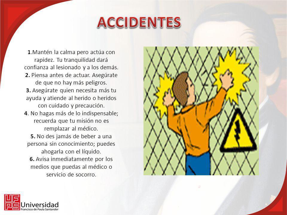 2. Piensa antes de actuar. Asegúrate de que no hay más peligros.