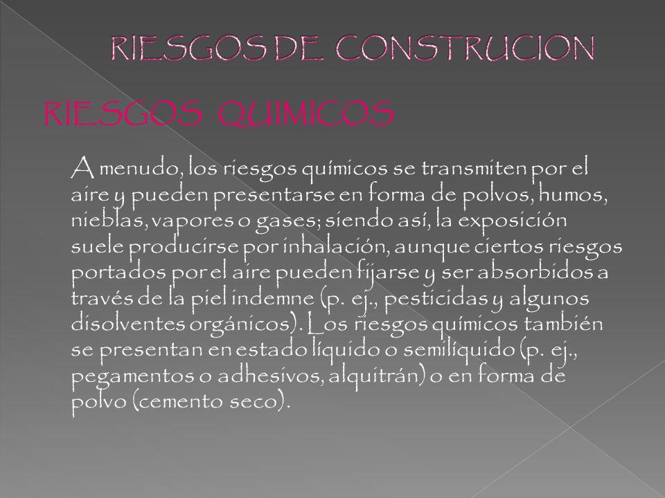 RIESGOS DE CONSTRUCION