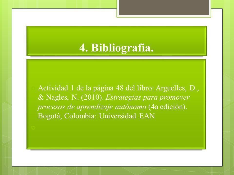 4. Bibliografia.