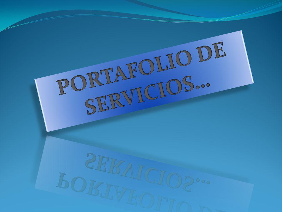 PORTAFOLIO DE SERVICIOS…