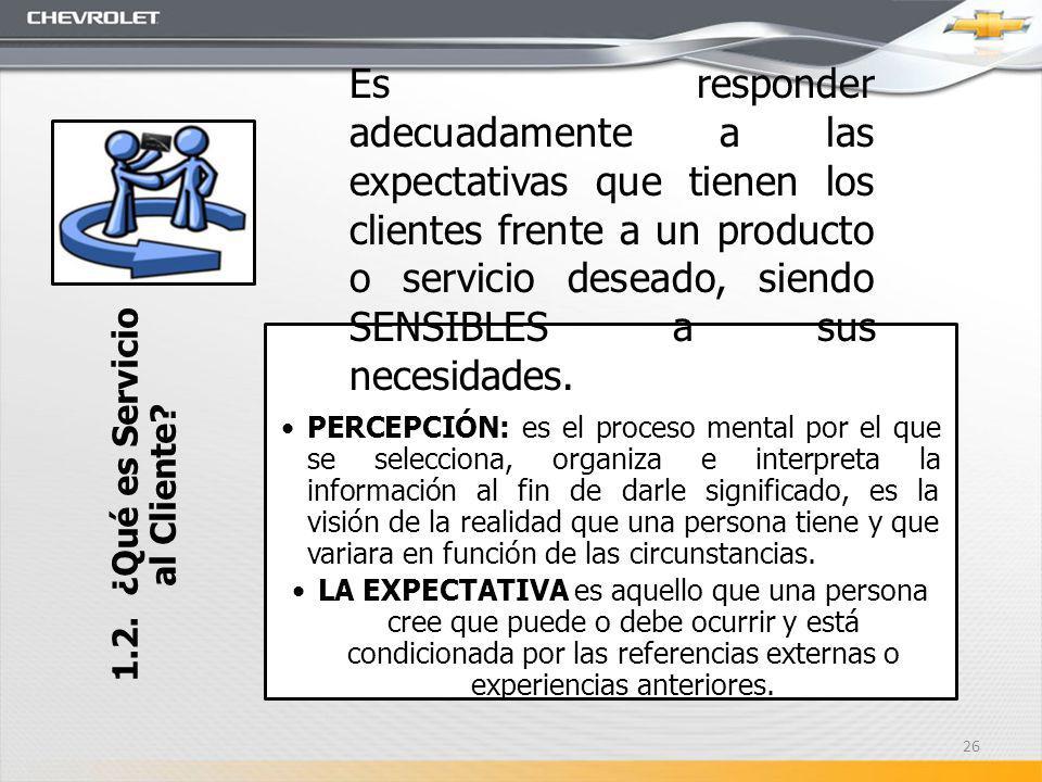 1.2. ¿Qué es Servicio al Cliente