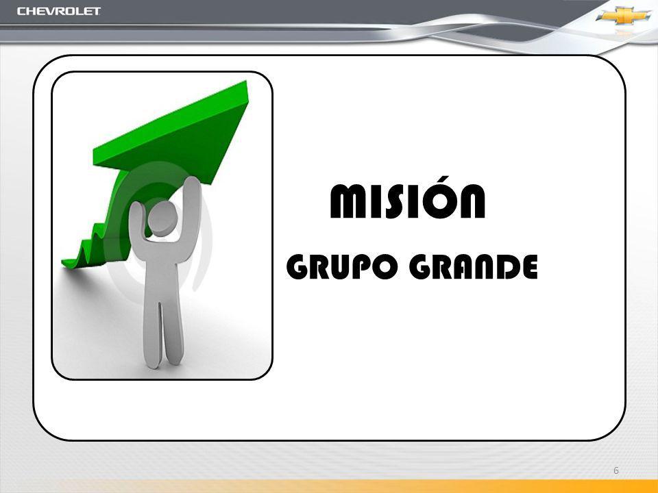 MISIÓN GRUPO GRANDE