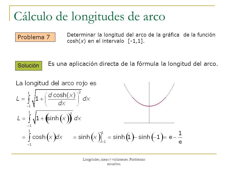 Cálculo de longitudes de arco
