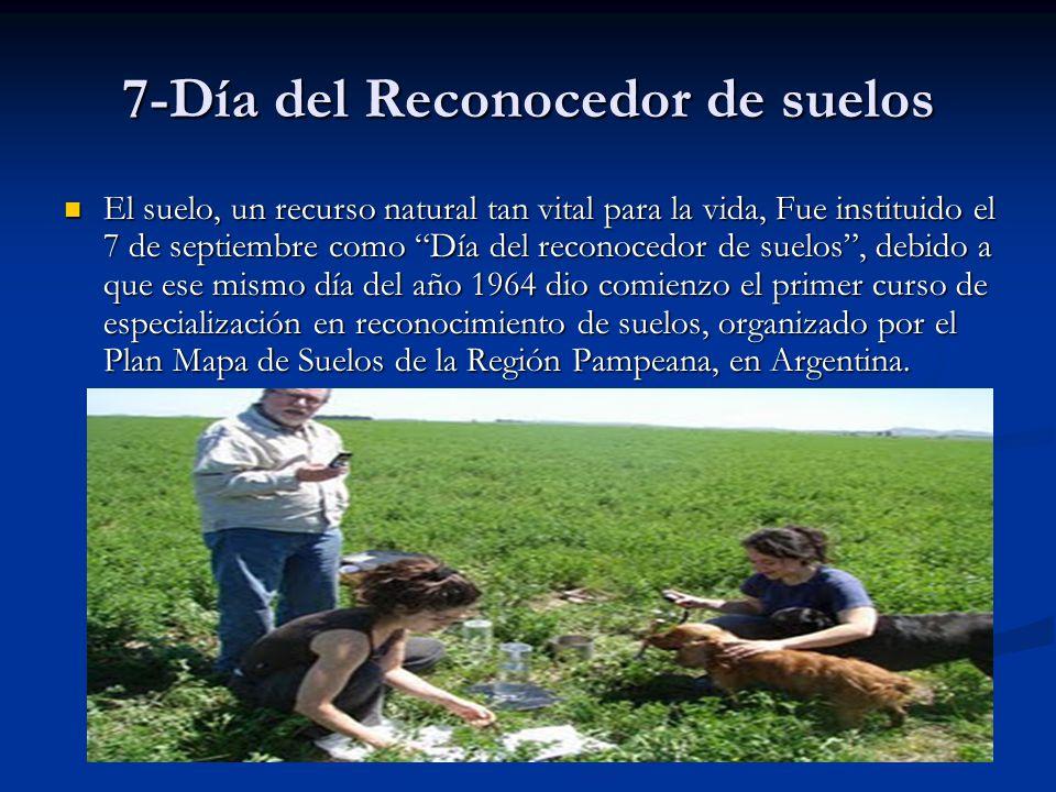 7-Día del Reconocedor de suelos