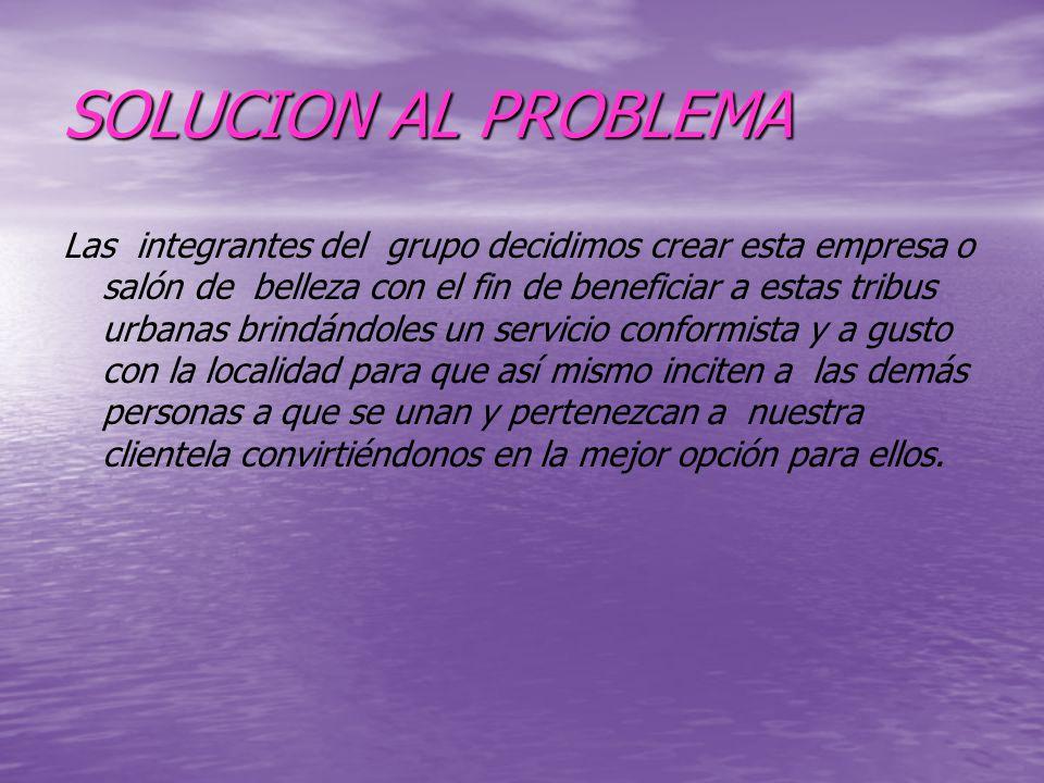 SOLUCION AL PROBLEMA