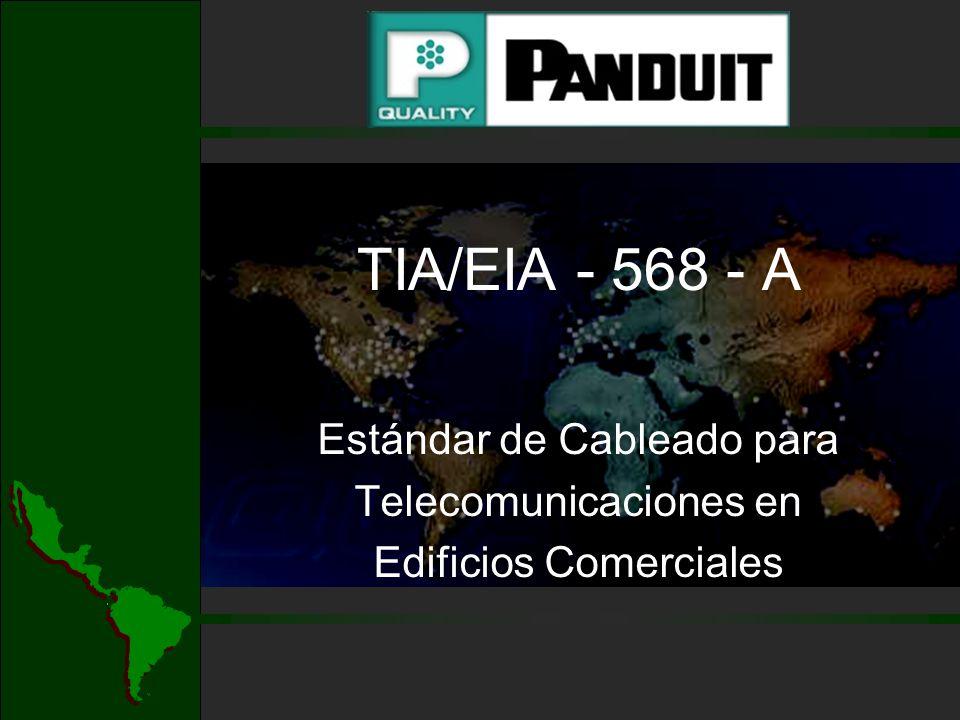 Estándar de Cableado para Telecomunicaciones en Edificios Comerciales