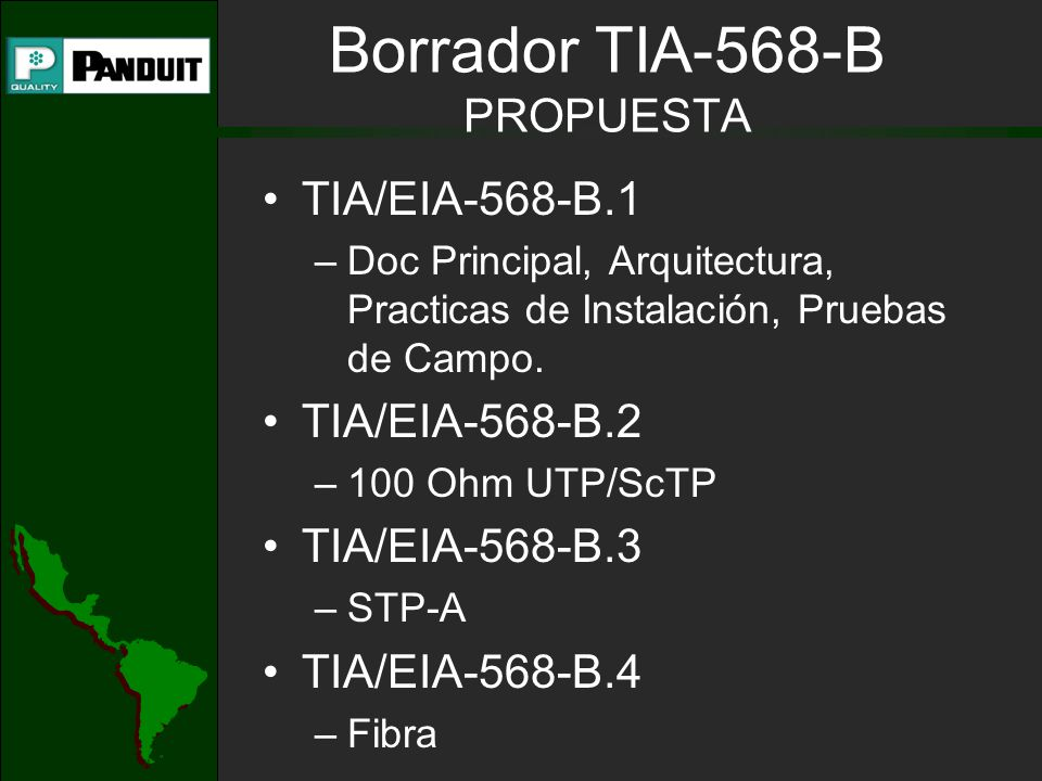 Borrador TIA-568-B PROPUESTA