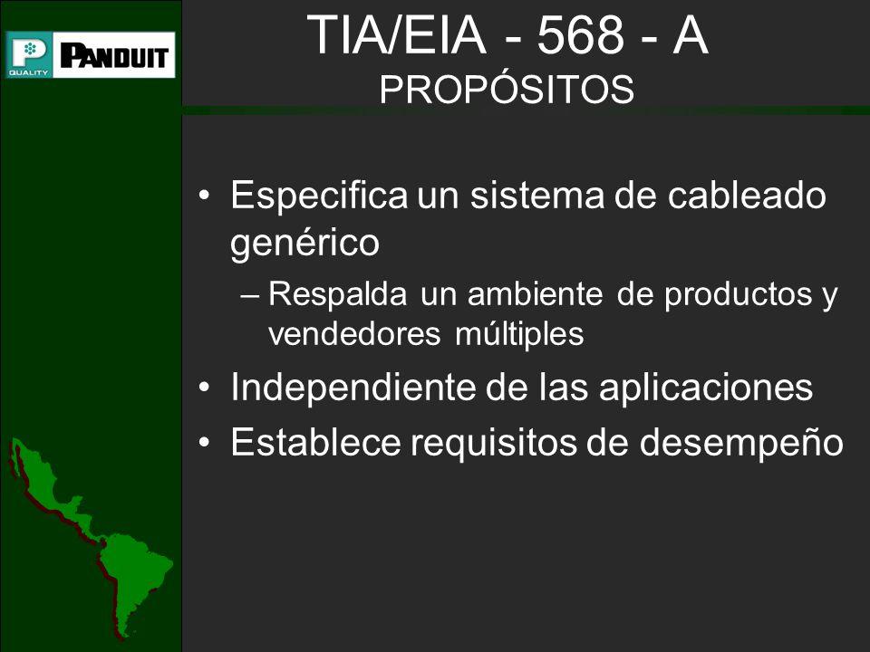 TIA/EIA - 568 - A PROPÓSITOS